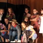 le théâtre de Ferdinand Flore, salut final