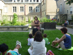 Médiathèque Jacques Demy Nantes  juillet 2014