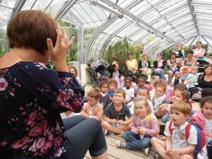 Jardin des plantes Nantes juillet 2015